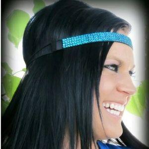 Accessories - NEW Blue Glitter Headband
